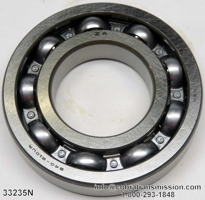 JF010E JF011E Driven Pulley to Rear Cover Bearing