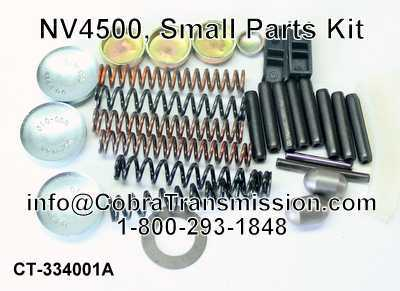 NV4500, Small Parts Kit