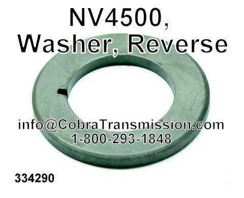 NV4500, Washer, Reverse