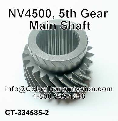 NV4500, 5th Gear Main Shaft
