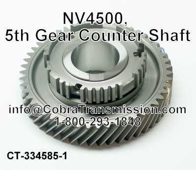 NV4500, 5th Gear Counter Shaft