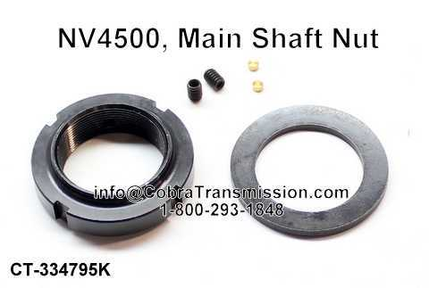 NV4500, Main Shaft Nut