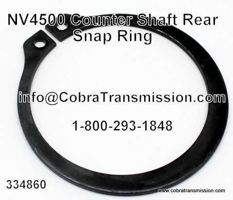 NV4500, Eje Counter Trasero Snap Ring