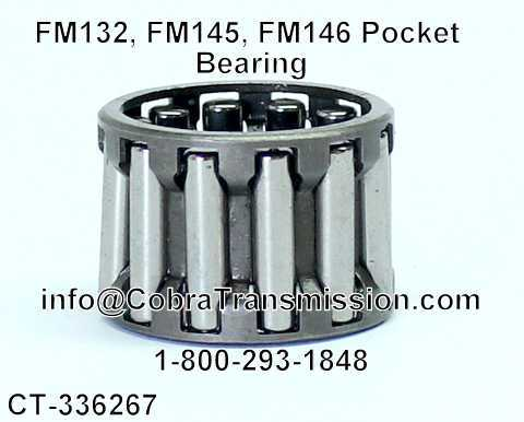 FM132, FM145, FM146 Pocket Bearing