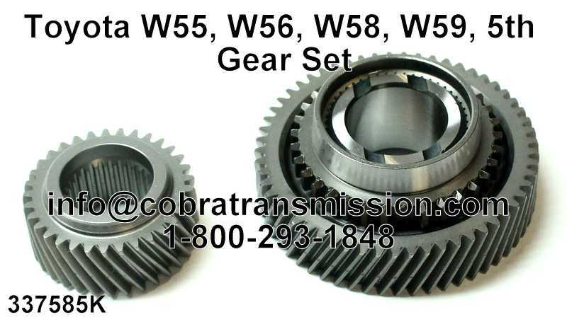 Toyota W55, W56, W58, W59, 5th Gear Set