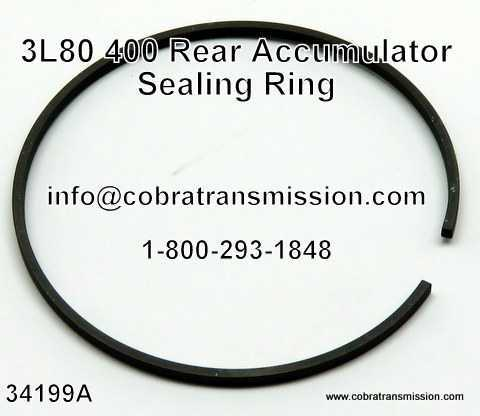 400, 3L80 Rear Accumulator Sealing Ring
