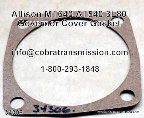 400, 3L80 Governor Cover Gasket