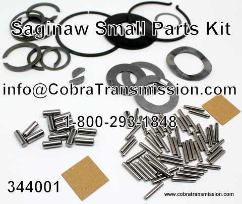 Saginaw, Small Parts Kit