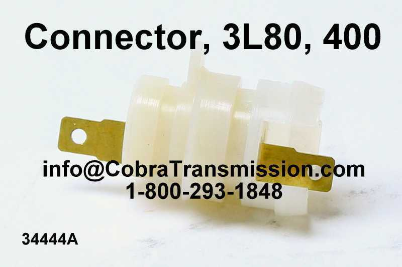 Connector, 3L80, 400