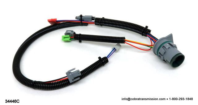 34446C wire harness 4l80e solenoid, sensor , cobra transmission 4L80E Transmission Wiring Diagram at gsmportal.co