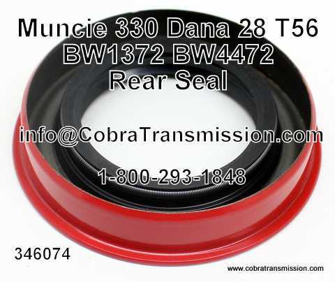 Muncie 330 Rear Seal