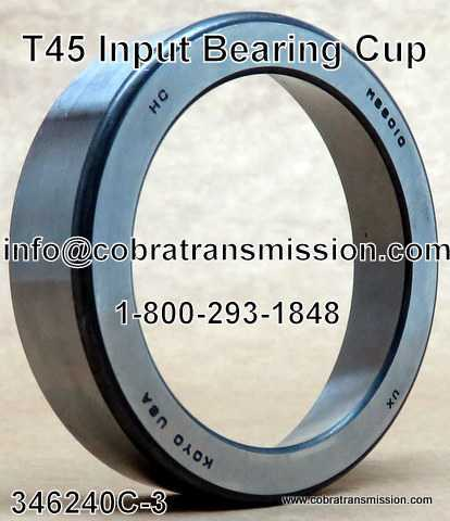 T-45 Input Bearing Cup