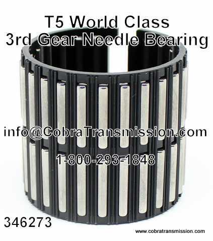 T5 (5 Speed) World Class, 3rd Gear Needle Bearing