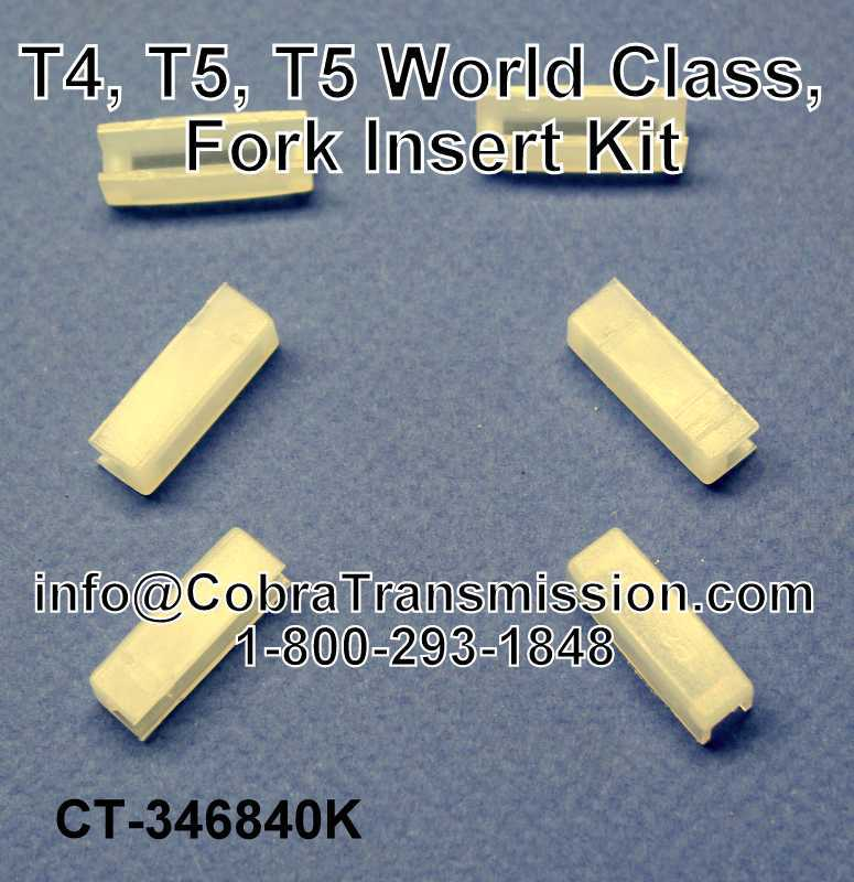 T4, T5, T5 World Class, Fork Insert Kit (All)