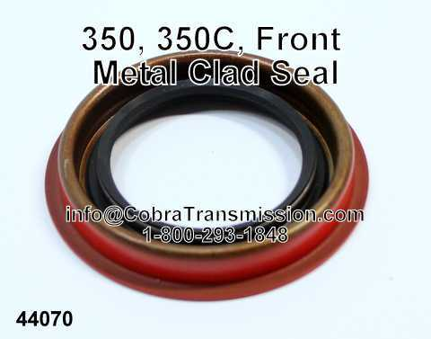 Allison AT 540 Metal Clad Seal, Front Pump