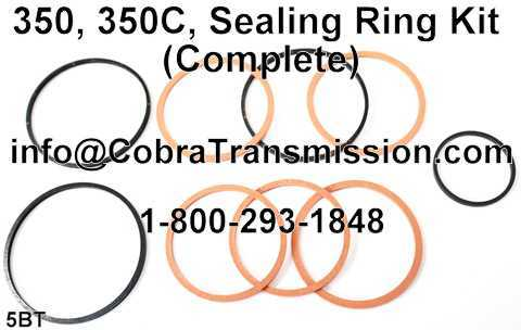 350, 350C, Sealing Ring Kit (Complete)