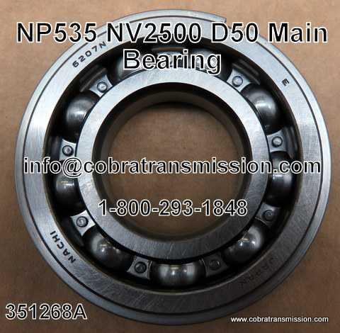 Mitsubishi D50, Main Shaft Bearing