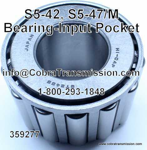 S5-42, S5-47/M Bearing - Input Pocket