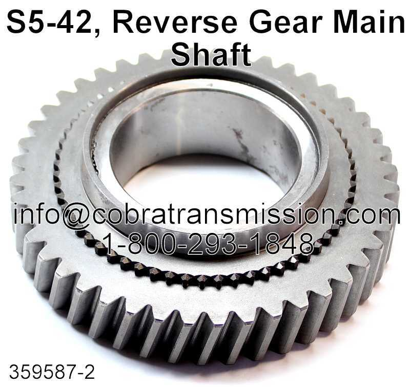 S5-42, Reverse Gear Main Shaft
