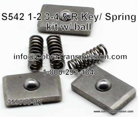 359700-2K Key and Spring Kit w/ Ball