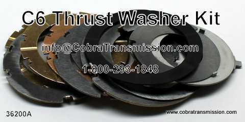 Ford C6 Thrust Washer Kit