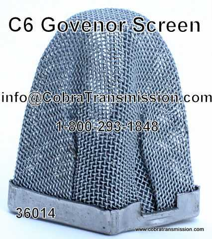 C6 Governor Screen