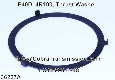 E40D, 4R100, Thrust Washer