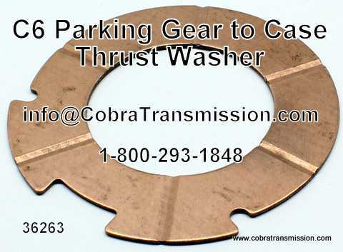 C6 Parking Gear to Case Thrust Washer