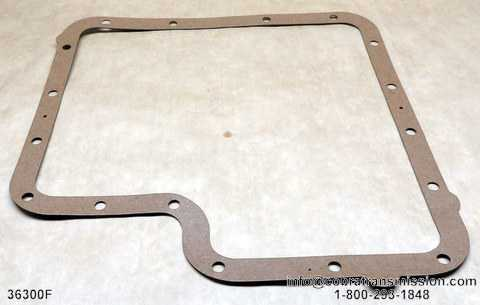 C6 Bottom Pan Gasket