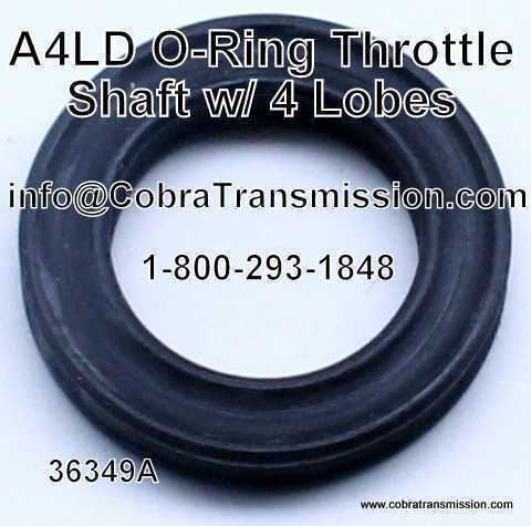 A4LD O-Ring, Throttle Shaft (w/ 4 Lobes)