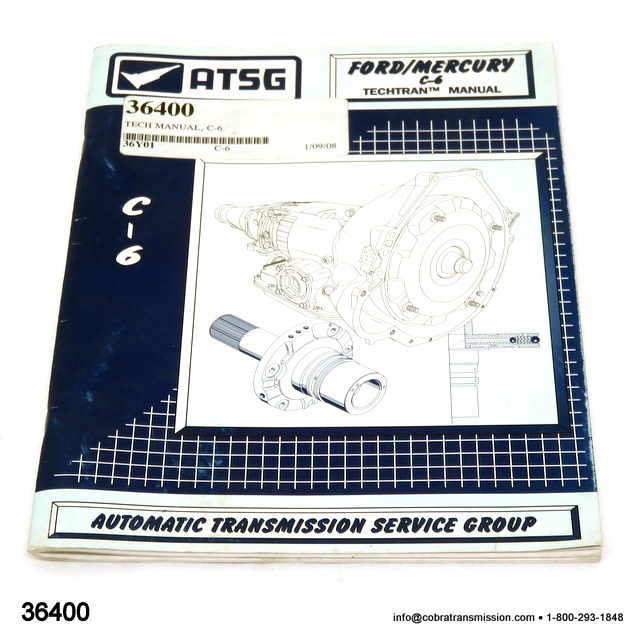 Technical Repair Manual For Ford C6
