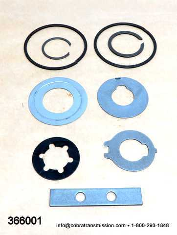 T18, Small Parts Kit