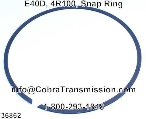 E40D, 4R100, Snap Ring