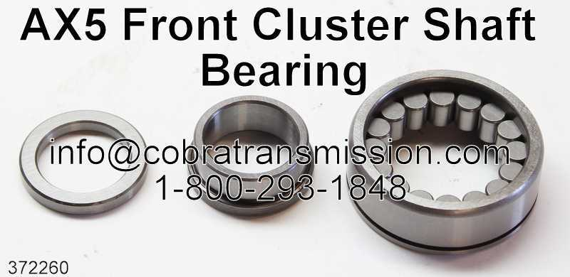 AX5 Front Cluster Shaft Bearing