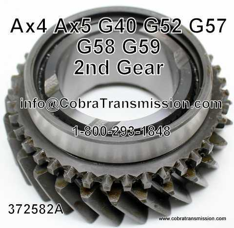 Toyota G40, G52, G57, G58, G59, 2nd Gear