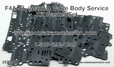 Mazda F4A-EL, Gasket Set, Valve Body Service Kit