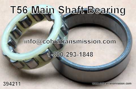 T56, Main Shaft Bearing