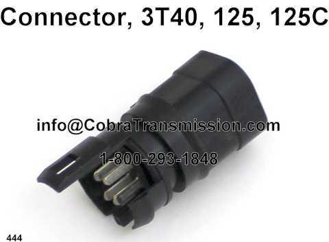 Connector, 3T40, 125, 125C