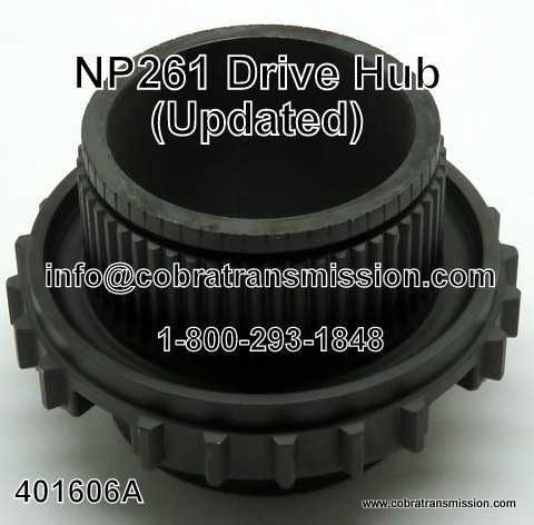 NP 261 Drive Hub (Updated)