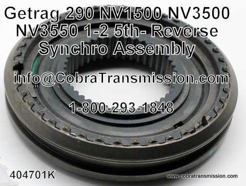 Getrag 290, NV1500, NV3500, NV3550, 1-2 Synchro Assembly