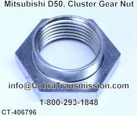 Mitsubishi D50, Cluster Gear Nut