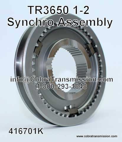 TR3650 1-2 Synchro Assembly