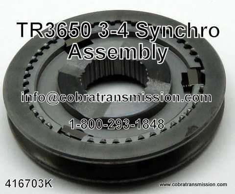 TR3650 3-4 Synchro Assembly