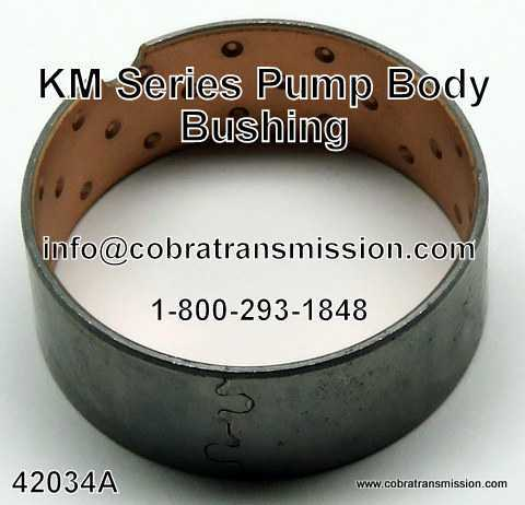 KM Series Bushing - Pump Body