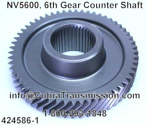 NV5600, 6th Gear Counter Shaft