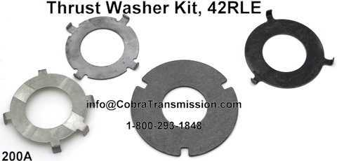 Thrust Washer Kit, 42RLE