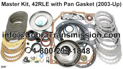 Master Kit, 42RLE with Pan Gasket (2003-Up)