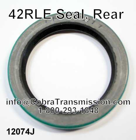 42RLE Seal, Rear
