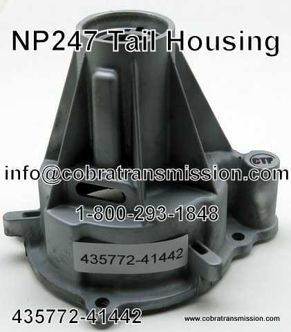 NP247 Tail Housing - 41442