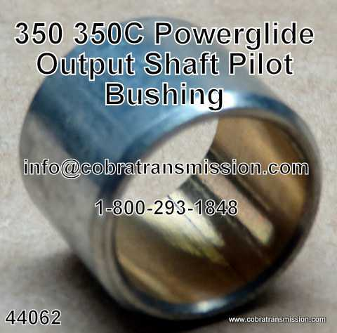 350, 350C, Output Shaft Pilot Bushing (Bronze)